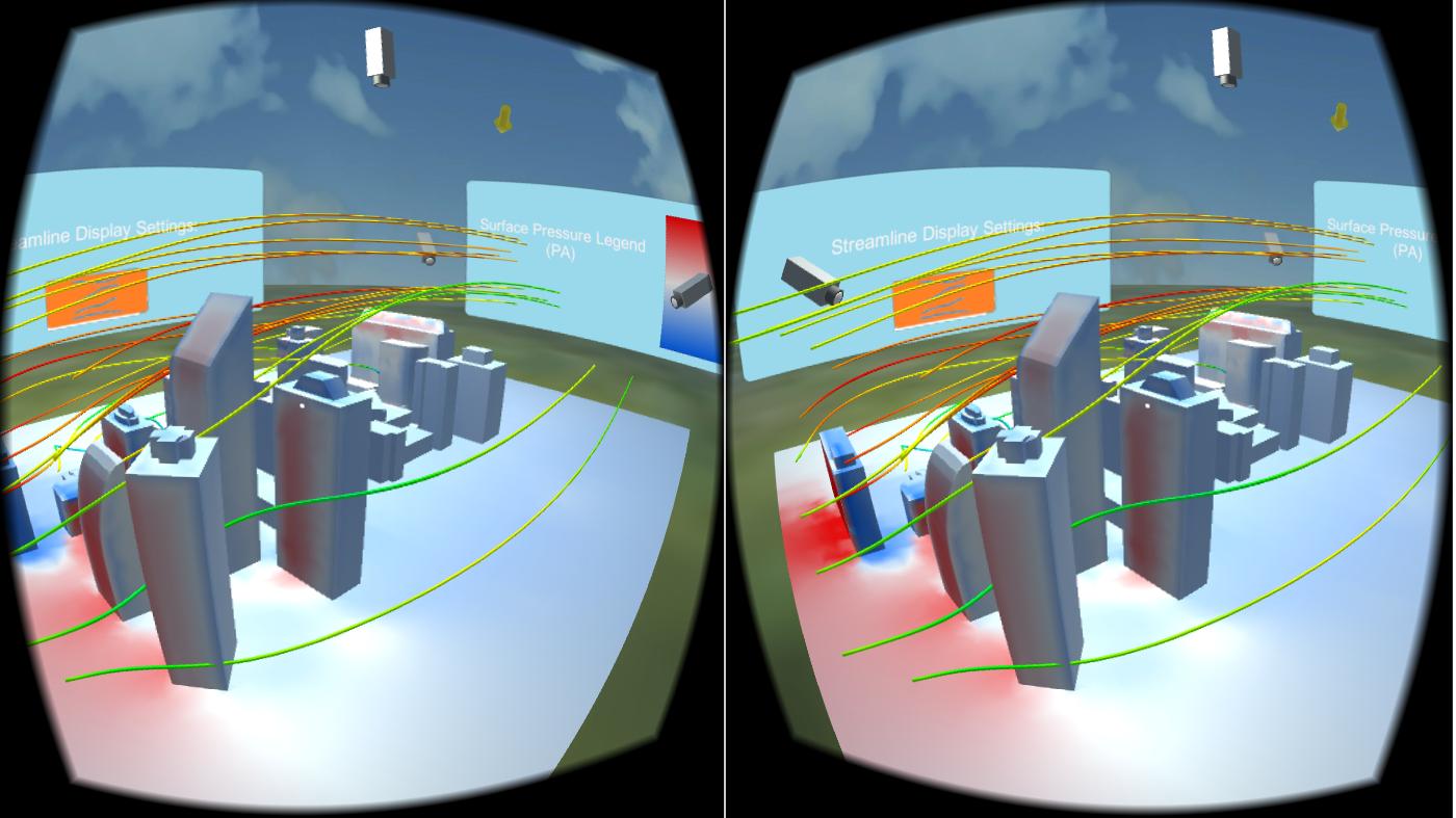 VR CFD Visualization