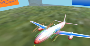 CFD aircraft VR