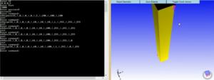CAD server console