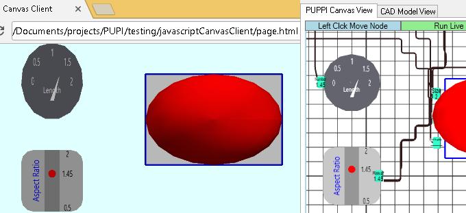 PUPPI Web Canvas