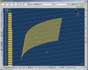 Catia surface grid