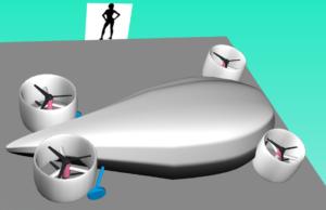 CopterCAD futuristic