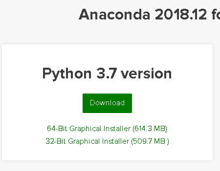Anaconda package manager